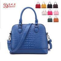 New Arrival 2015 genuine leather women handbag fashion crocodile shell bag brand design women shoulder bag women messenger bag