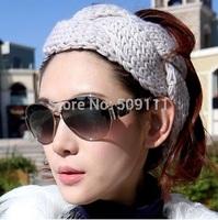 Crochet headband Women's earwarmer or neckwarmer Girls Winter accessories Knitted ear warmer 1pc WH059