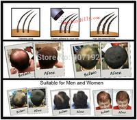 1Pcs/lot Refill 25g Hair Building Fibers for Conceal Restore Thinning Hair Loss Men Women 2Colors Black/Dark Brown