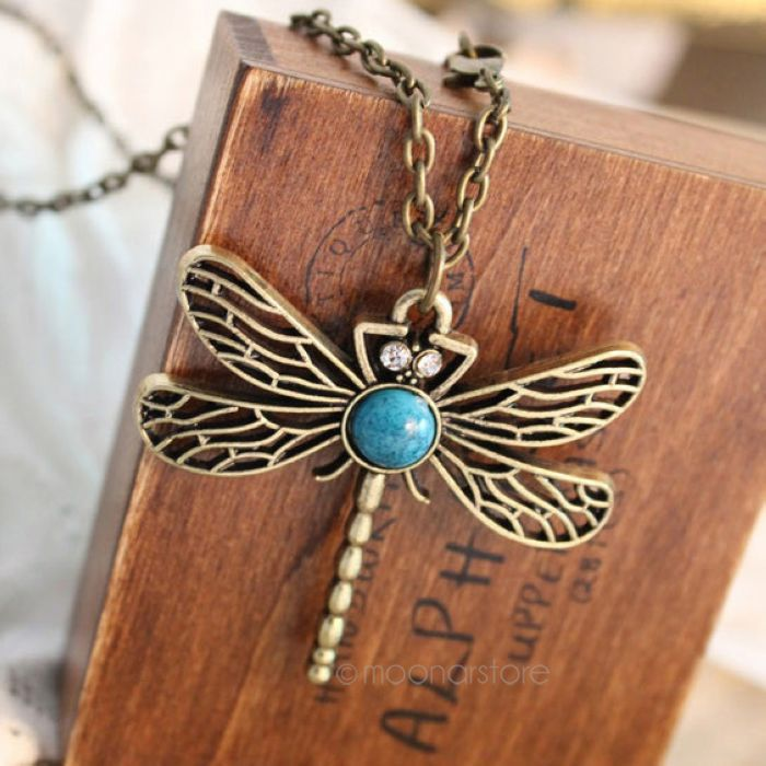 Free Shipping Korea Lovely Jewelry Ancient Bronze Necklace gem Ancient the Sweater Chain Hot BPJ127
