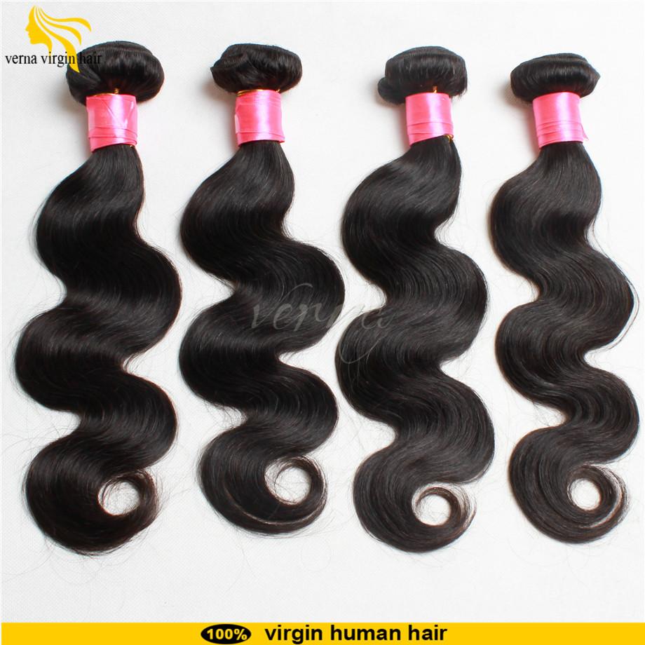 luvin hair products filipino virgin hair body wave 6a grade beauty natural hair extensions 4pcs lot accept paypal free shipping(China (Mainland))