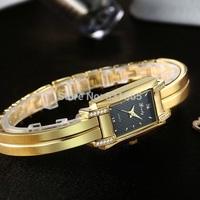 Grady brand high quality IPG gold 1 year guarantee gold bracelet diamond CNC watch lady