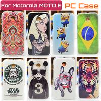 Hot Selling Cover Case FOR Motorola MOTO E Colored Paiting Case XT1021 XT1022 XT1025