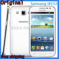 "100% Original Unlocked Samsung Galaxy Win I8552 4.7"" Screen 1.2Ghz Quad Core 1G RAM 4G ROM 5MP 3G Smartphone Refurbished"
