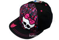 Monster.high Original Girls Boys Hat Baseball Caps Kids Sun Hats Adjustable Baseball Cute Cap Girls Hats Free Shipping DA511