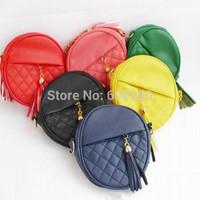 2014 new Women handbag fashion women messenger bags vintage shoulder bags mini tassel chain bag pu leather handbags clutch purse