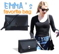 2014 models the latest Shoulder Messenger bag woman holding envelope bag messenger bags