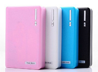 With double USB Port Power Bank 12000mAh  Portable Charger External Backup Battery  for mobile phones