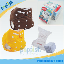 Gift Packing Disposable Sweet Printed Outer PUL Baby Textile Diapers Baby Cloth Diaper Free Shipping(China (Mainland))