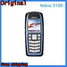 Free Shipping 3100 Original Unlocked Nokia 3100 Mobile phone GSM Dual Band Classic Cheap Cell Phone Refurbished