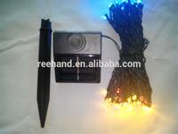100 LED Solar panel Garden waterproof Christmas Party String  Light Fairy Decoration Lamp
