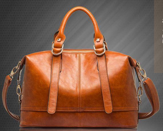 New 2014 women handbags genuine leather handbag fashion women messenger bags brand tote designs clutch bag shoulder bag F274(China (Mainland))