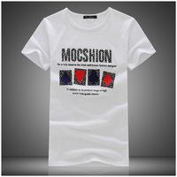 2014 new tide short sleeve men's t shirt short sleeve heisenberg aeronautica man plus size