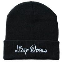 2015 New Style Unisex lizey world embroidery Beanie Skullies&Caps Unisex Knitting hat