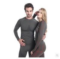 Men Bamboo Fiber quick-dry Running,cycling,hiking base layer Outdoor wicking sports underwear set for men & women