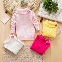 Children's Girl's Sweaters Basic Underwear for Winter Autumn Spring Colourful girl Sweater Full Sleeve