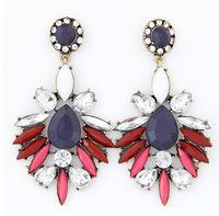 Luxe Rhinestone Dangle Earrings Brand Jewelry Big Statement Earrings New Fashion Accessories for Women BJE94415