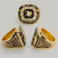 Hot Cheap NFC Fans souvenirs Minnesota Vikings sports Football Championship rings for Men football awards Jewelry Free shipping