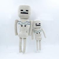 New 2015 Minecraft Dolls High Quality Minecraft Skeletons Plush Dolls Minecraft Toys Gift Children Christmas Gifts Toys 24-30cm