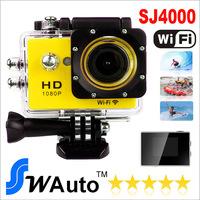 Original SJ4000 Wifi version  30m WiFi control 1080P Full HD Extreme Sport DV Action Camera Diving 30M Waterproof
