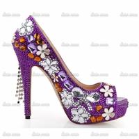 2015 Fashion Stars Rhinestone Custom Handmade Crystal Crystal Rhinestone Pumps Spring Red 16 Women Fashion Femme Butterfly Shoes