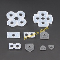 1 Set Controller conductive rubber pad button for Playstation 4 PS4 gamepad replacement