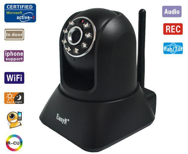 EasyN Mega-Pixels Standard Indoor Wireless IP camera wireless cctv camera,(China (Mainland))