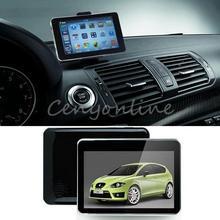 480*272 4GB TFT S D Bluetooth 7Inch LCD Touch Screen Free Map Update Car GPS Navigation SAT NAV Voiture Ecran With FM MP3 E-book