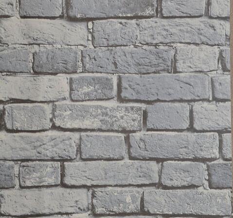 vinyl brick wallpaper 3d yellow brown grey red brick