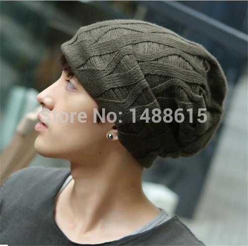 новое направление вязания мужская шапка мужчины