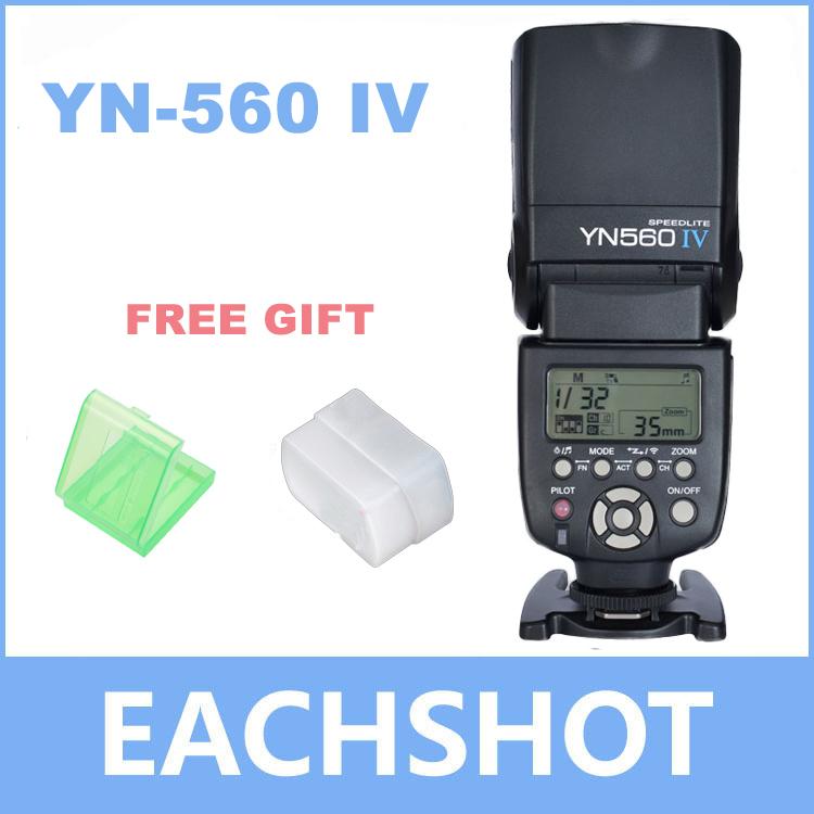 YONGNUO yn-560 IV Speedlite istantaneo per Canon olympus nikon pentax fotocamere dslr versione di aggiornamento di yn-560ii yn-560iii