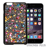 Natural Colorful Sea Shell Women Fashion Mobile Cases Top Quality Shell Full Crystals Phone Case HD Screen Protective Film Free