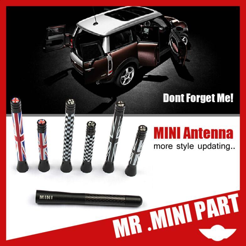 MINI Cooper Antenna Aerial Short FIT Mini Cooper S JCW R55 R56 R57 R60 Countryman,Carbon Fiber Aerial 6style(China (Mainland))