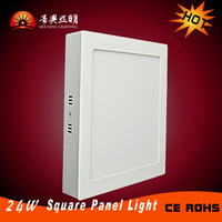 1pcs SMD2835 LED Room Light 300*300mm Surface Mounted Ceiling Panel Light  24W  Square Flat Ceiling Lights Indoor Light