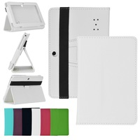 2014 Multi-Color PU Case Multiple Solid Colors Protector Flip for 7 inch Q88 Tablet PC ZS*CA0061#S3