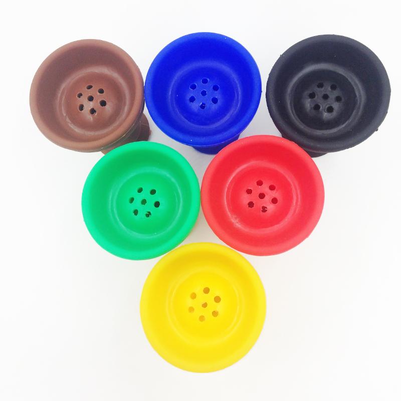 2014 directly sell wholesale color silicone bowl hookah shisha free shipping(China (Mainland))