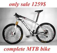 ONLY 1179$ look MTB mountian Carbon Fiber MTB Bike Mountain Bicycle complete 26er 29er bicicleta Carbon MTB bike frame LOOK 986