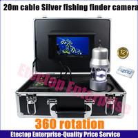 HD Underwater Fishing Camera sony 7''TFT 700TVL IP68 ,fish finder camera+20m cable+Power supply+OSD  freeshipping