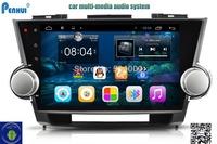 PENHUI   Toyota Highlander (2009-2015)   Support DVR+OBD+Radar-in  Car DVD  Cortex A9 Car Navi Car gps Car Video