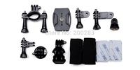 Original SJCAM Accessories Kit helmet base, bike stand, for SJ4000 SJ4000WIFI M10 action camera sport camera dive DV