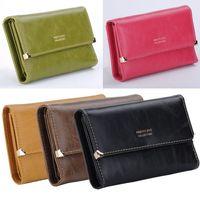 2014 Women Purses High Quality Leather Wallet Button Clutch Purse Lady Long Handbag Bag PB9035*20