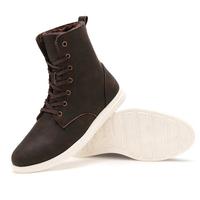Big size warm boots man winter work boot men snow fashion brand plush flats Autumn fur ankle shoes lace-up driver walking 630