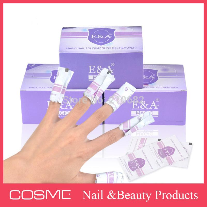 120 pcs gel nail art polonais laque feuille s'enroule easy remover