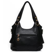 Fre Shipping female  fashion handbags European and American ladiesSoft Pu  package Shoulder Bag