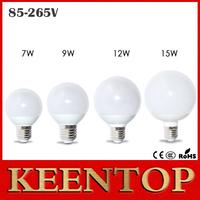 1Pcs New 360 Degree R60 R70 R80 R90 LED Bulb Lamps SMD5730 E27 7W 9W 12W 15W LED Ball Lighting 110V 220V LED Pendant Wall Light