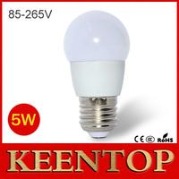 Newest High Quality E27 5W Energy Saving LED lamp AC 110V - 220V 5730 SMD LED Bulb Chandelier light for Home lighting 6pcs/lot