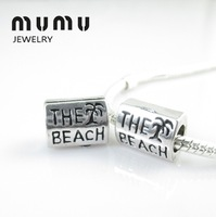 50PCs Fashion Jewelry 5mm Beads For Mothers Day Gifts Tree And Beach Beads Fit All Brands Silver Plated Beads Bracelets