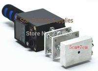 Handhold hot stamp machine Hot stamping debossing machine on leather wood LOGO MARK printing 5x7cm+ one die