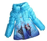 DHL Free shipping hot sale girls coat,girls jacket,frozen coat,4pcs/lot wholesale