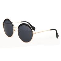 New fashion vintage retro designer round sunglasses cat eye sun glasses glasses eyewear FDY8160